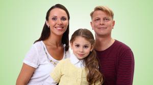 фон зеленый семья